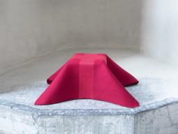 Kalkkläde i rött
